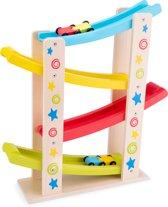 New Classic Toys - Houten Jodelbaan - Inclusief Auto's