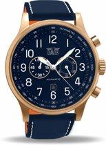 Davis 1945 Analoog Heren Quartz horloge