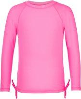 Snapper Rock UV werend Zwemshirt Kinderen lange mouwen - Neon Roze - Maat 116-122
