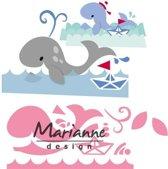 Marianne Design Collectables Eline's Walvis