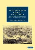 Diplomatarium veneto-levantinum 2 Volume Set Diplomatarium veneto-levantinum