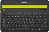 Logitech K480 Bluetooth Multi-Device - Draadloos Toetsenbord / Azerty / Frans / Zwart