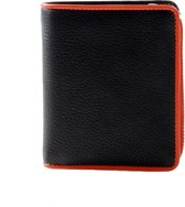 Pia Ries Billfold 863-7 Colored Edge Leer - Oranje