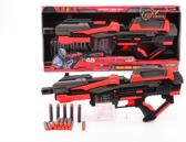 Serve and protect shooter Mega 54 cm B/O met 10 darts