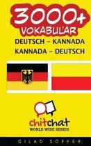 3000+ Deutsch - Kannada Kannada - Deutsch Vokabular