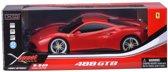 XQ XStreet Ferrari 488 GTB 1:18 RC afstand bestuurbare auto remote control red
