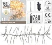 Clusterverlichting warm wit buiten 768 lampjes -  boomverlichting