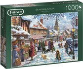Falcon Seasonal Cheer Puzzel 1000 stukjes