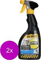 Csi Urine Kattenbak Spray - Geurverwijderaar - 2 x 500 ml