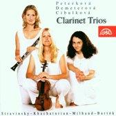 20th Century Clarinet Trios / Peterkova, Demeterova, Cibulkova
