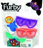 Hasbro Furby accessoires bril blauw roze