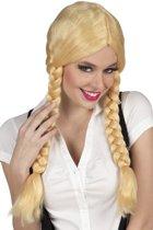 Pruik Natascha blond