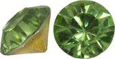 Puntsteen SS39 (8 mm) Clear Light Green (25 Stuks)