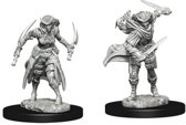 Dungeons and Dragons Nolzur's Marvelous Miniatures: Tiefling Rogue, Female
