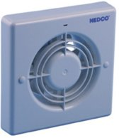 Nedco Badkamer/toiletventilator CR 120 T - 125 mm