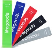LifeGoods 5 Weerstandsbanden Set