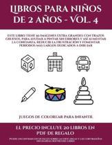 Juegos De Colorear Para Infantil (Libros Para Ninos De 2 Anos - Vol. 4)