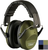 Vanderfields Professionele Gehoorbeschermer - voor Volwassenen - Army Green