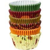 Wilton Cupcakevormpjes Herfst pk/150