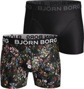 Bjorn Borg Heren Microfibre 2Pack Short Mystic Flower-M (5)