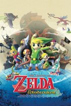 The Legend of Zelda The Windwaker poster 61x91.5cm.