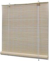 Rolgordijn 80x220 cm bamboe natuurlijk