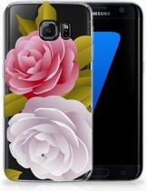 Samsung Galaxy S7 Edge Uniek TPU Hoesje Roses