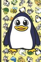 Penguin Animal Party Notebook