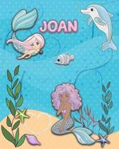 Handwriting Practice 120 Page Mermaid Pals Book Joan