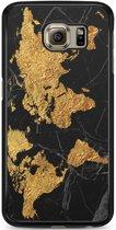 Samsung Galaxy S6 hoesje - Wereldmap