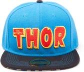 Marvel Comics - The Mighty Thor - Pet - Snapback - Blauw