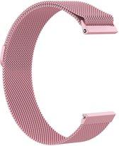KELERINO. Milanees bandje - Fitbit Versa - Roze