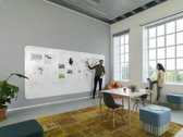 Smit Visual Chameleon VisuWall Whiteboard – Whiteboard  Muur – Wand panelen – Emaille Staal 198x392 cm – Wit -  4 panelen 198x98 cm