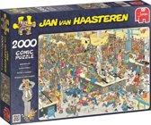 Jan van Haasteren Queued Up! 2000