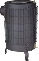Werkplaatskachel - 16.5KW vermogen -77cm hoog x 43CM diameter -  op Hout