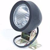 Werklamp Enkel Ovaal 115X105x100 mm 12V 55 watt H3 incl Bevestigingsbeugel