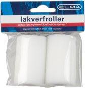 Elma lakverfroller - extra fijn - 5 cm - 2 stuks