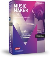 Magix Music Maker Live - Nederlands / Engels / Frans - Windows