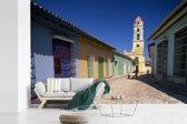 Fotobehang vinyl - Kleurrijke gebouwen in het Noord-Amerikaanse Cuba breedte 540 cm x hoogte 360 cm - Foto print op behang (in 7 formaten beschikbaar)