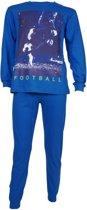 Fun2Wear Voetbal Pyjama blauw maat 128