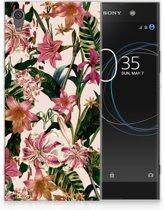 Sony Xperia XA1 Ultra Uniek TPU Hoesje Flowers