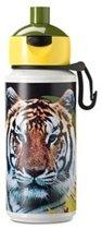 Rosti Mepal drinkfles Pop-Up Animal Planet tijger