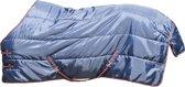 HKM Winterdeken 210D nylon donkerblauw/rood 205