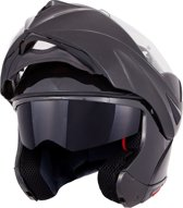 Vinz Systeemhelm / Motorhelm / Flip-up Helm - Zwart - Large
