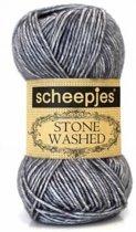 Scheepjes Stone Washed 802 Smokey Quartz PAK MET 10 BOLLEN a 50 GRAM.