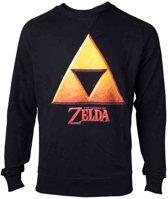 Zelda - Gold Triforce Crest Men's Sweater - XL