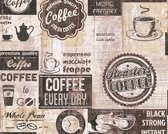 KOFFIE BEHANG - AS Creation Simply Decor