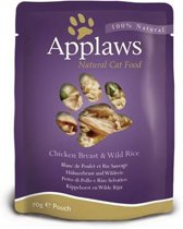 Applaws cat pouch chicken / rice kattenvoer 70 gr