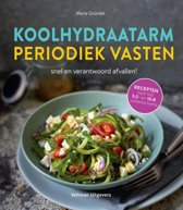 Boek cover Koolhydraatarm & periodiek vasten van Marie Gründel (Hardcover)