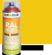 Motip Dupli-Color Spuitbus Acryl Hoogglans - RAL 1023 Verkeersgeel